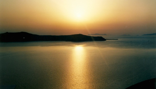 tramonto santorini