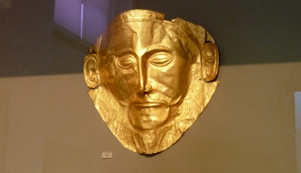 maschera di agamennone