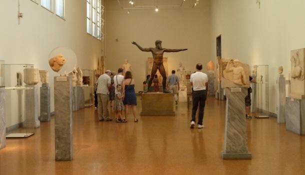 sezione sculture e bronzi