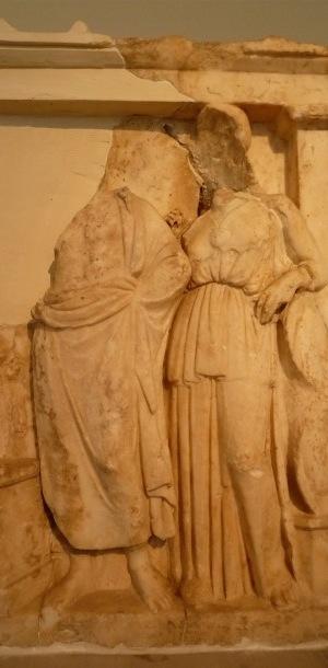 stele asclepio e athena