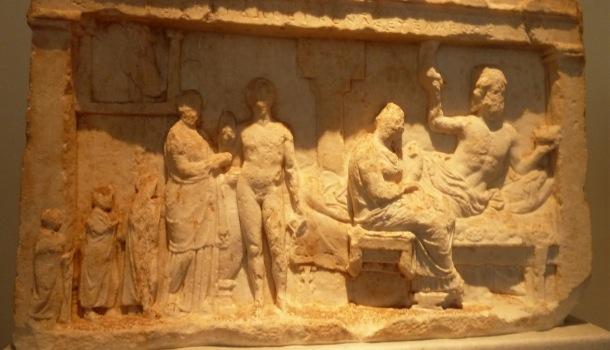 stele per asclepio