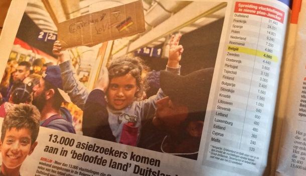 giornale belga