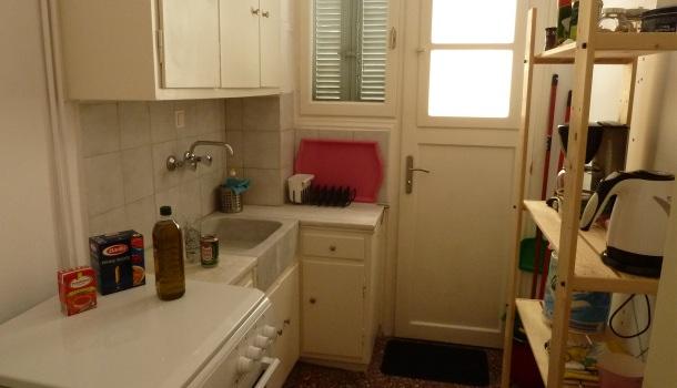 cucina appartamento ad atene