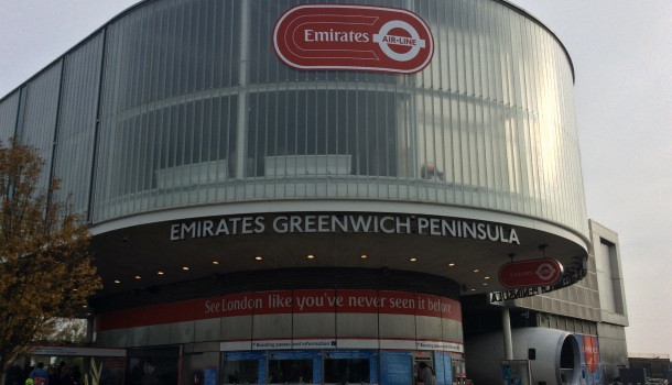 emirates air line greenwich
