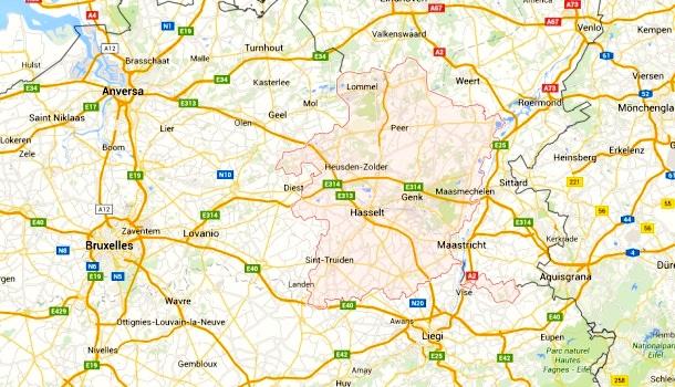 limburgo mappa