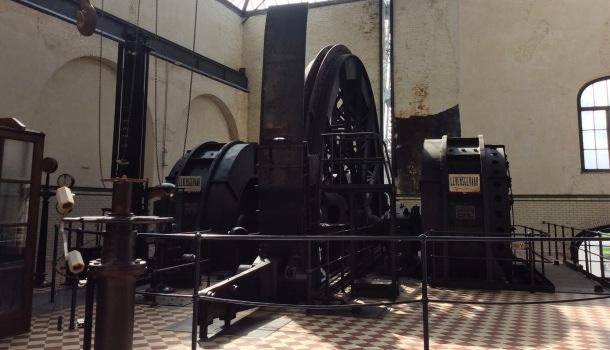 macchinari ex miniera di winterslag
