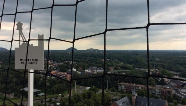 panorama da torre di aerazione C Mine