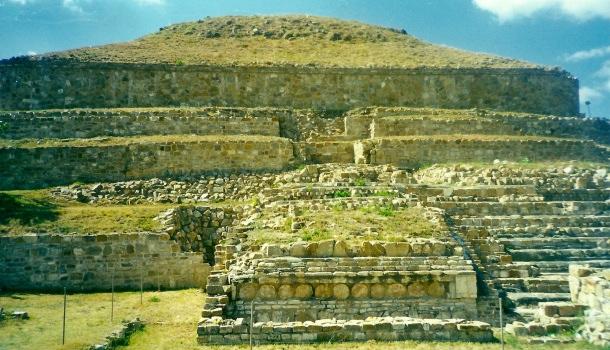 tempio a monte alban