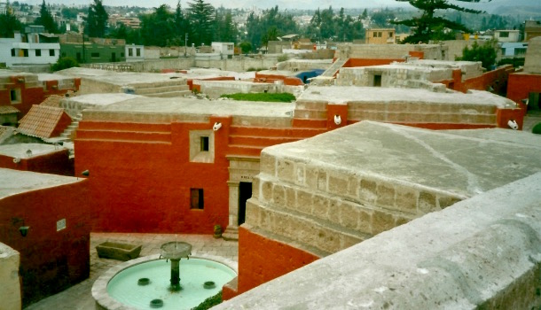monastero santa catalina veduta dai tetti