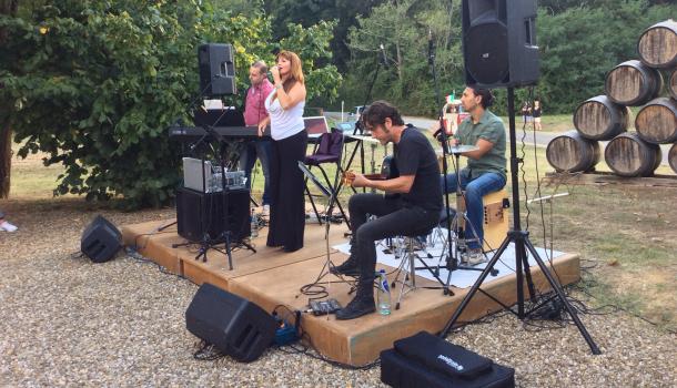 cinzia e la sua band