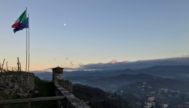 vista dal Forte di Gavi