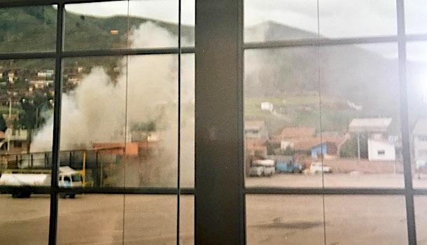 incendio aeroporto cuzco