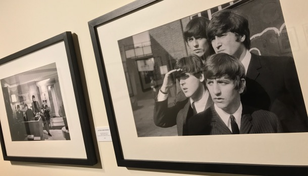 foto sul set di a hard day's night