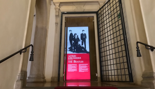 ingresso mostra astrid kirchherr with the beatles