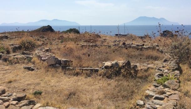 villaggio età del bronzo alle isole eolie