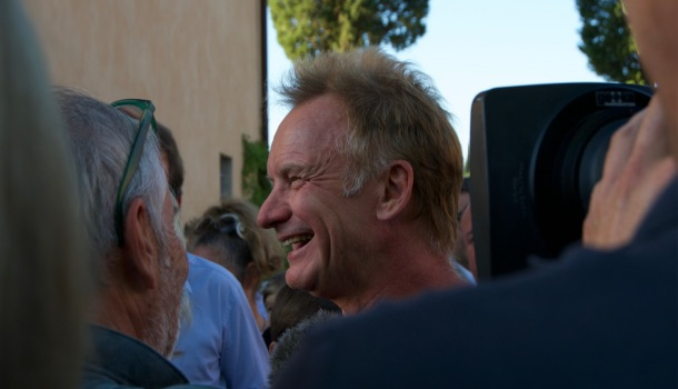 Sting an englishman in Toscana
