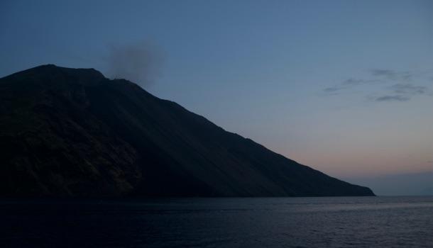 tramonto a stromboli