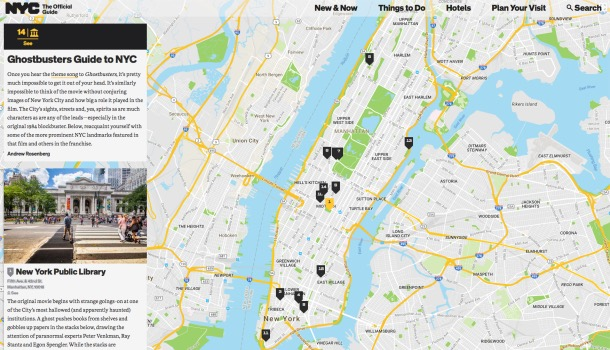 Ghostbusters Guide to NYC