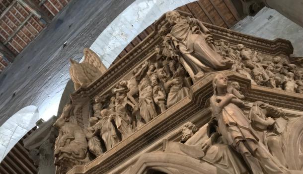 tour dei pulpiti medioevali di pistoia: giovanni pisano