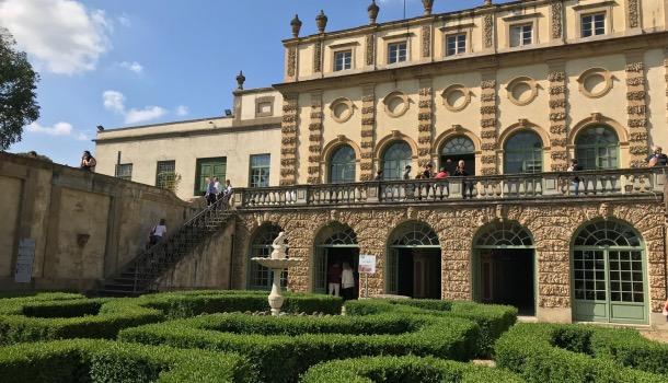 giardino all'italiana e grotte di villa salviati