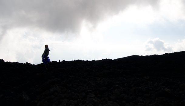 escursione sull'etna tra luci e ombre
