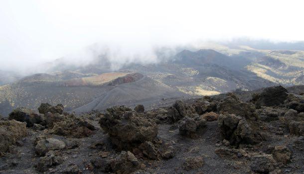 paesaggi escursione sull'etna