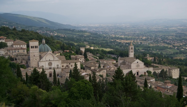 viaggio in umbria, assisi