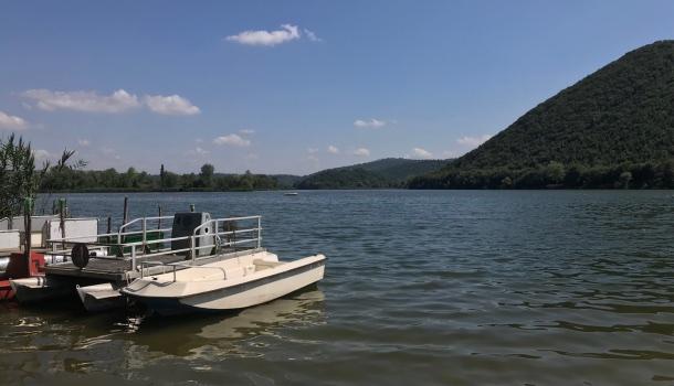 viaggio in umbria, lago pediluco