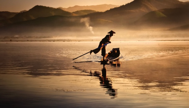 steve mccurry, inle lake, burma, 2011