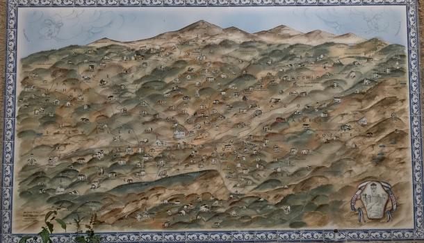 antica mappa dell'appennino modenese