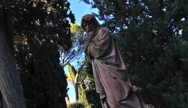 statua terracotta di vignamaggio