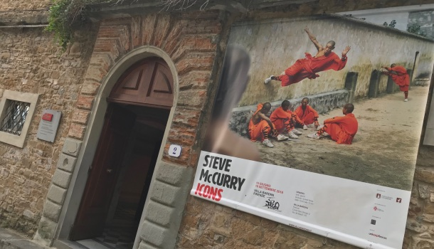steve mccurry. icons a firenze