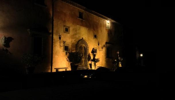 vignamaggio by night