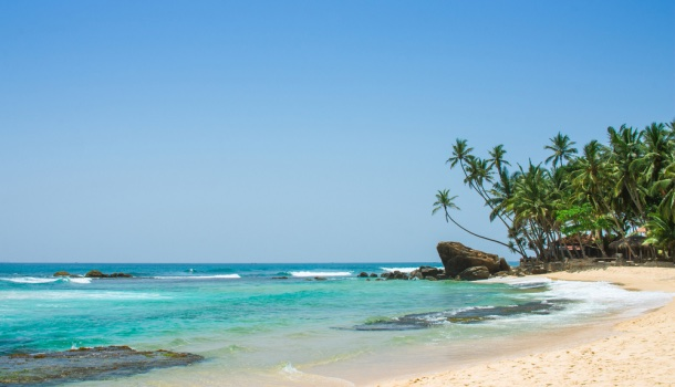 Unawatuna, spiaggia Sri Lanka