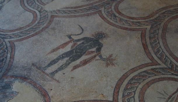 rappresentazioni stagioni nei mosaici della villa dei mosaici