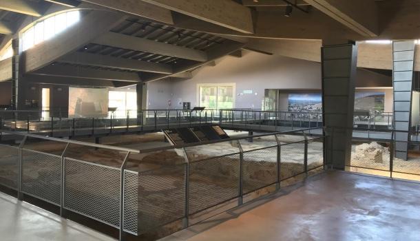percorso museo villa dei mosaici
