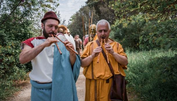 rievocazione etrusca tyrrhenikà