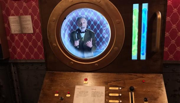 laboratorio mubia ispirato a Jules Verne