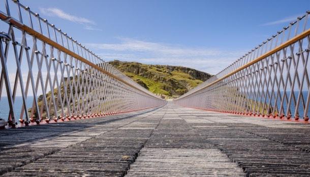 ponte del castello di tintagel