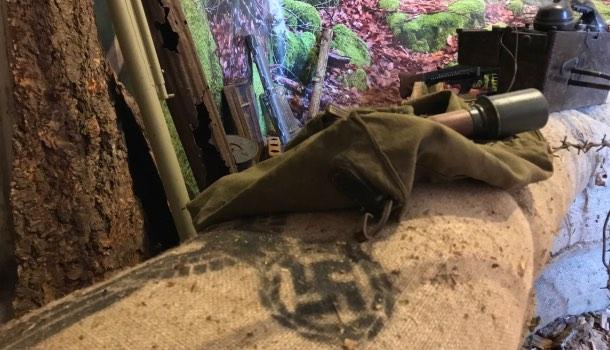 ricostruzione di bunker tedesco