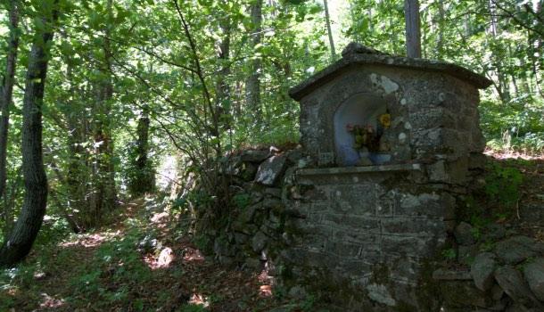 tabernacolo lungo la linea gotica