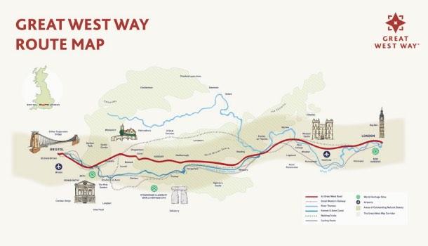 mappa great west way