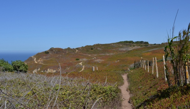 sentieri intorno a cabo da roca