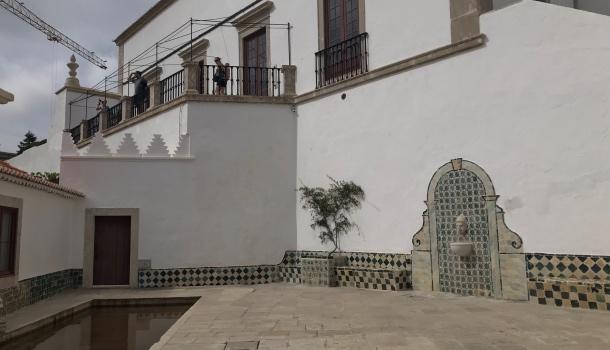 cortile del palazzo nazionale