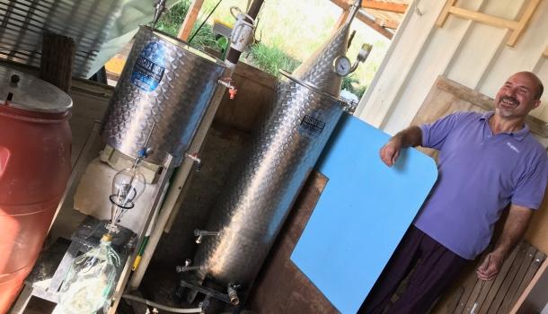 il distillatore del podere lemniscata