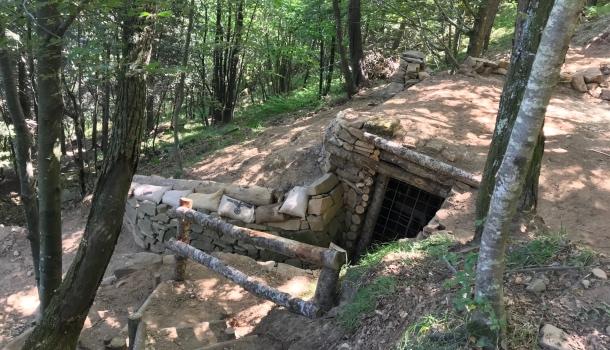 bunker la buca sulla Linea Gotica